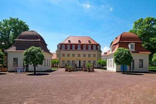 Bad Lauchstädt Kurhaus Pavillon Kurpark