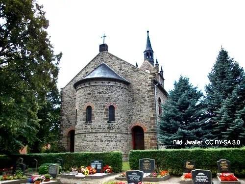Kirche St. Maria Kriegstedt in der Bad Lauchstädter Ortschaft Milzau