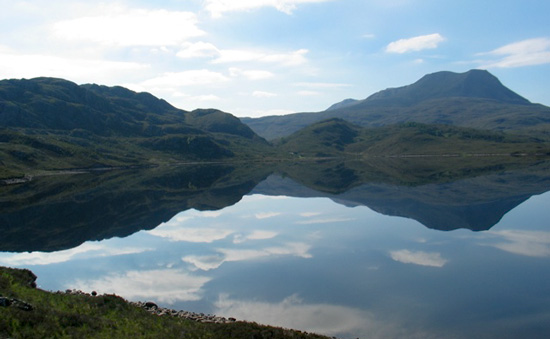 Badachro Loch - one of the sights that make our region one of outstanding beauty.