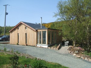Our holiday cottage in Badachro: Little Aird Hill