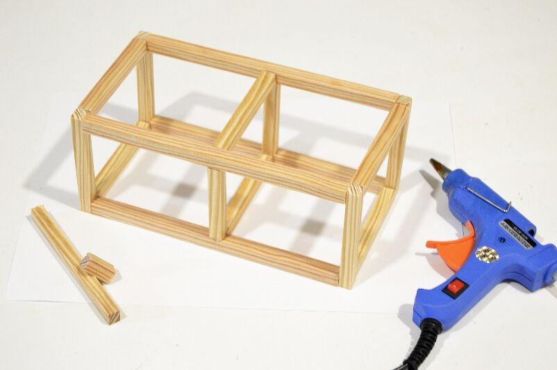 Estructura para portavelas