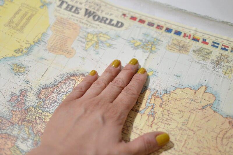 Alisar mapa