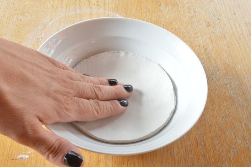 Moldeando plato