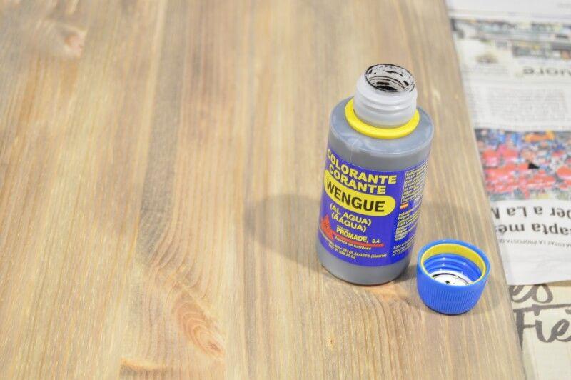 colorante para madera