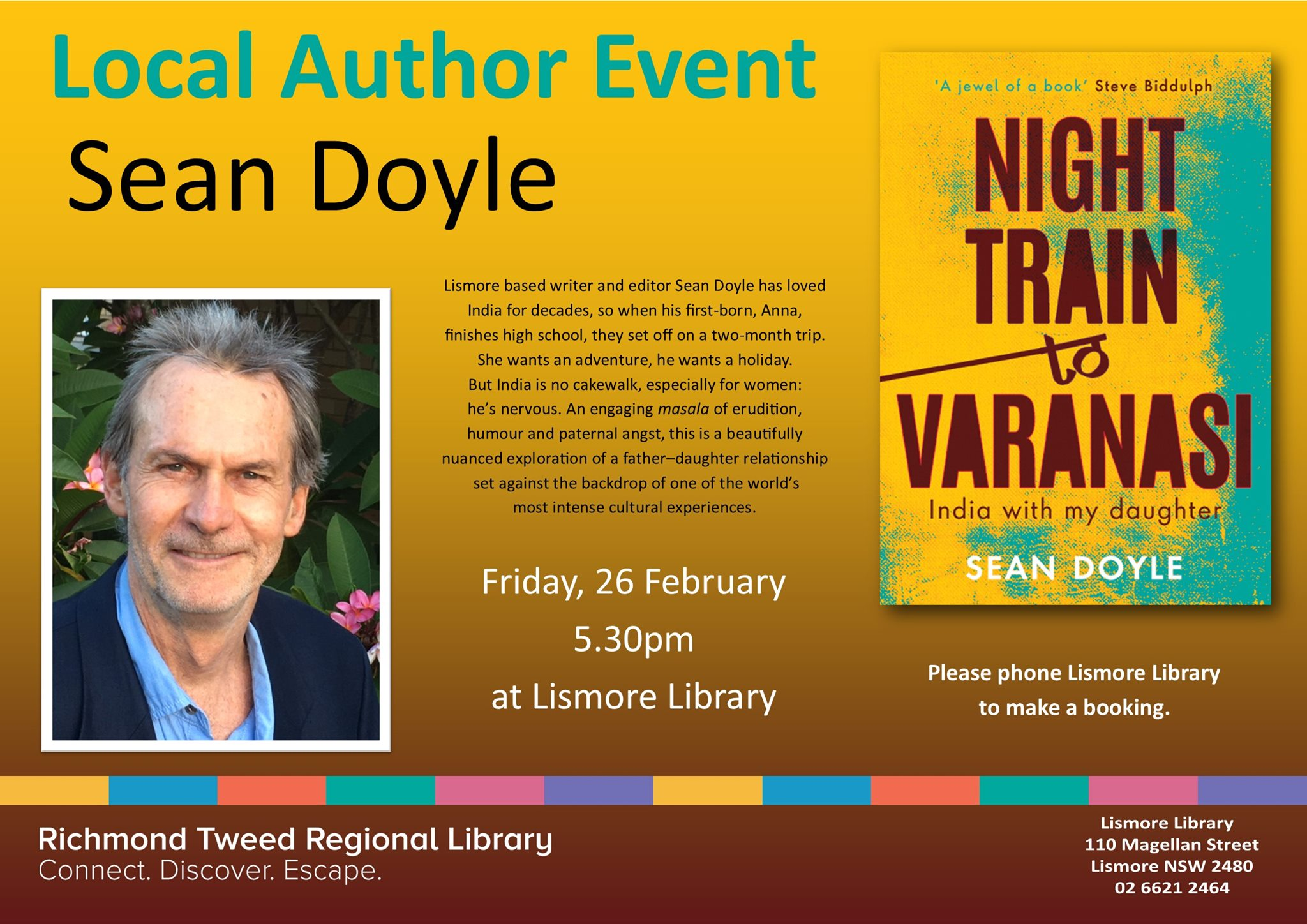 Night Train to Varanasi launch event