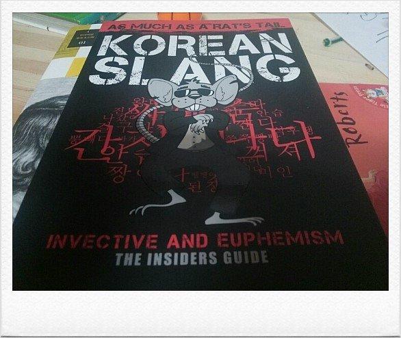KOREAN SLANG 한국 비속어 한국인이나 외국인 모두에게 필요한 책,재밌네!