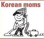 cartoon of Korean ajuma vacuuming
