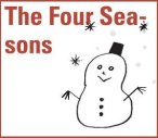 Image of snowman to represent the four seasons
