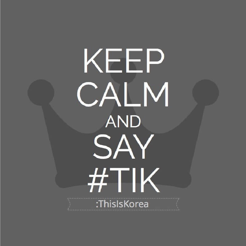 #TIK:ThisIsKorea lets you to keep calm in the face of frustration