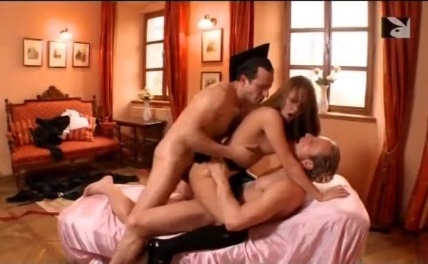Playboy TV: Fantastic Threesome Scene