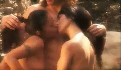 Kaylani Lei And Christine Nguyen In The Erotic Traveler