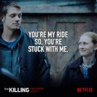 An Unexpected and Very Badass Romance Is Why I Kept Watching AMC's The Killing