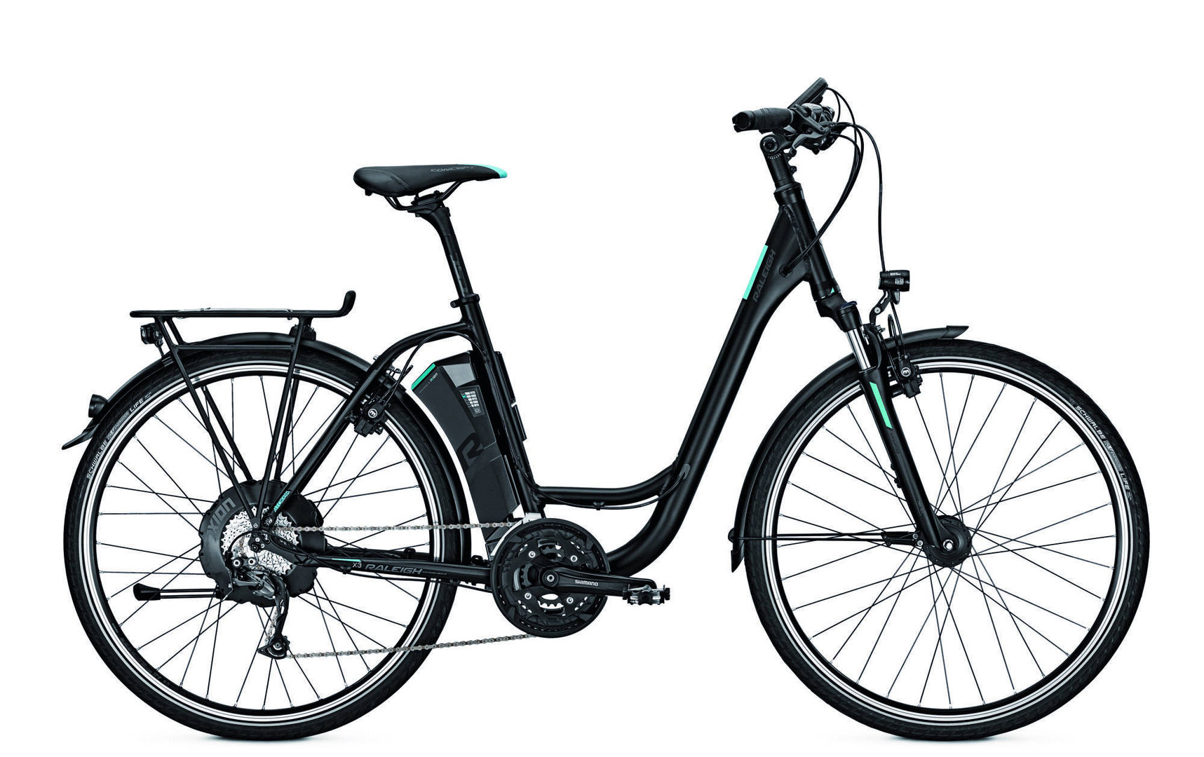 Raleigh Stoker X3 Elektro Fahrrad Trekking Ebike
