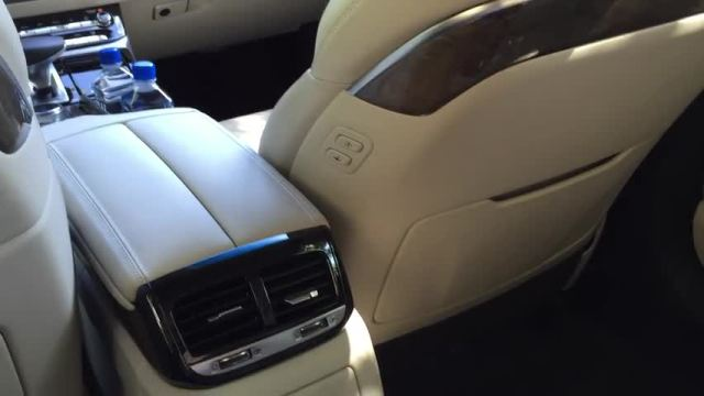 2017 Genesis G90 Rear Seats | Autoblog Short Cuts