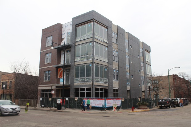 The apartment complex should be ready for move-ins by late May or June 1.