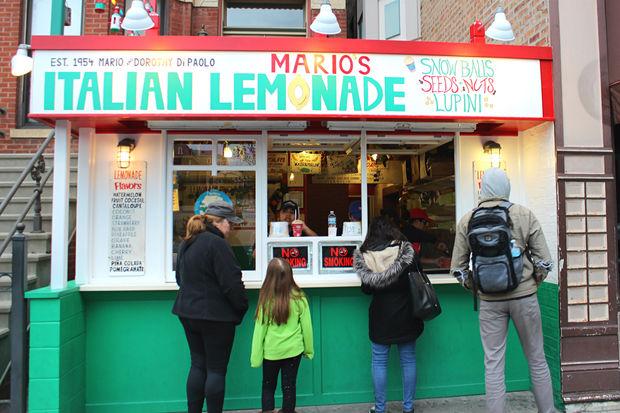 Mario's Italian Lemonade is now open for the 2017 summer season.