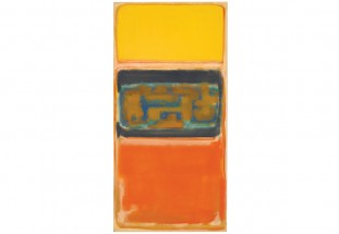 Rothko's No. 1, painted in 1949 as the first in a series of 12