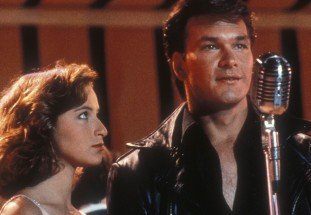 Patrick Swayze in Dirty Dancing. Photo by SNAP/REX/Shutterstock