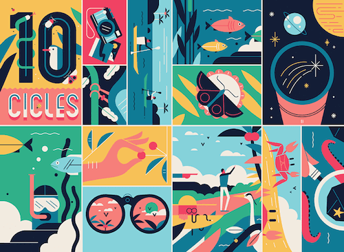 As Far As The Eye Can See: Colorful Sceneries, Posters And Covers