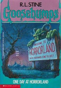 one day at horrorland book cover