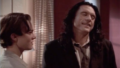 "This is Tommy Wiseau's ""I Know You Want It"" face"