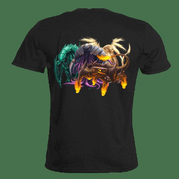 Elemenz dice game Tshirt promo