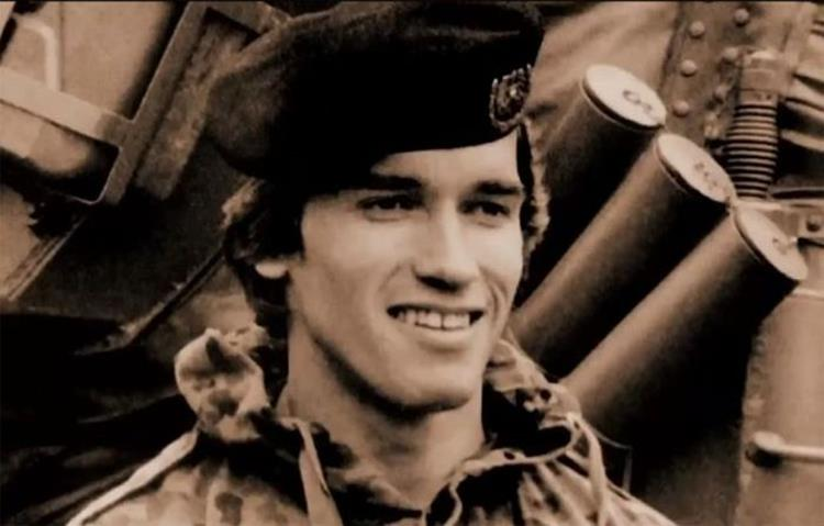 Arnold Schwarzenegger Back in his Army Days