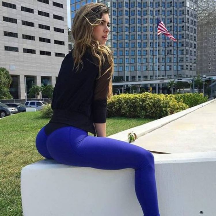 Today is a Good Day for Yoga Pants seen on Badchix