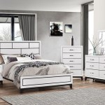 Buy Alexis White 5 Pc Queen Bedroom Part Badcock More