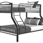 Buy Avery Black Twin Full Metal Bunkbed Part 1080 Black T Fbb Badcock More