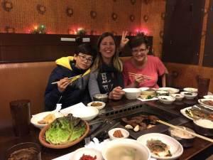 Isaac, Sarah, & Susan at Madangsui