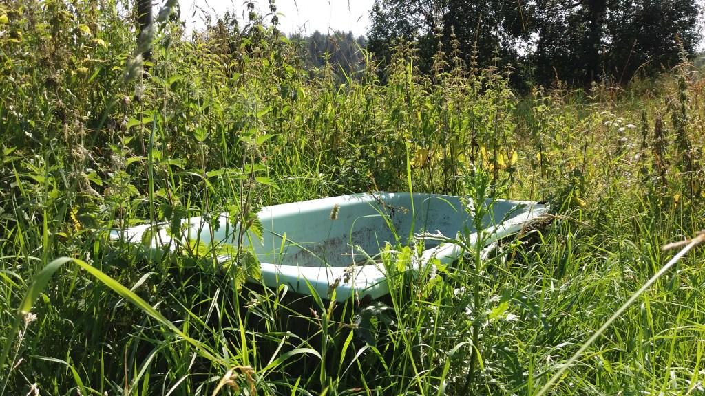 gjenbruk av gammelt badekar