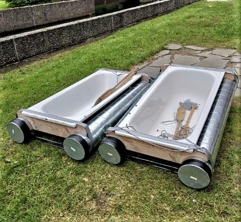alternativ bruk av gamle badekar