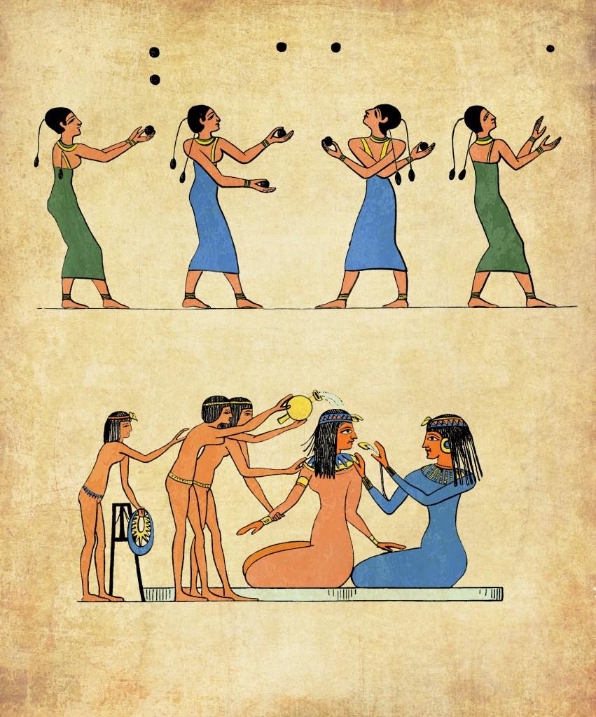 egyptisk dusj