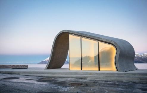 Ureddplassen Gildeskål Foto: Lars Grimsby/Statens vegvesen