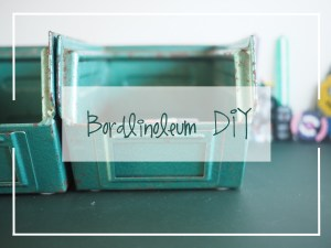 Bordlinoleum DIY