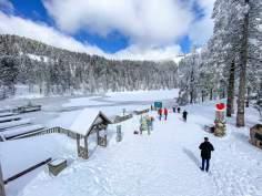 Frühling, März, Schnee, Mummelsee 2