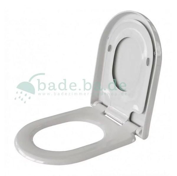 WC Sitz mit Kindersitz Absenkautomatik und D-Form / Soft-Close - WC Sitz Shop