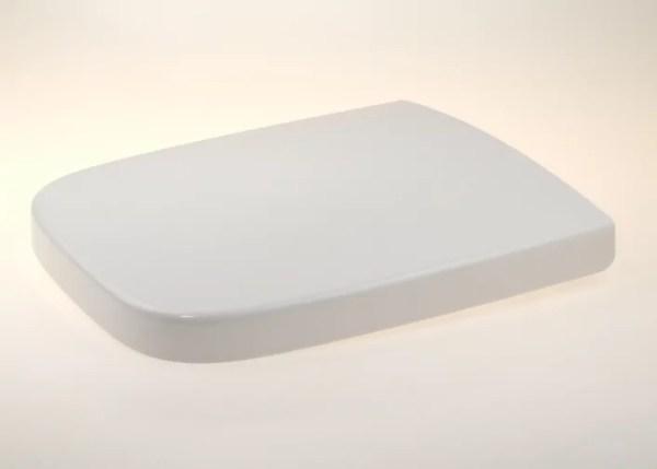 WC Sitz mit Absenkautomatik und Eckig Form / Soft-Close für PuraVida Duravit - WC Sitz Shop
