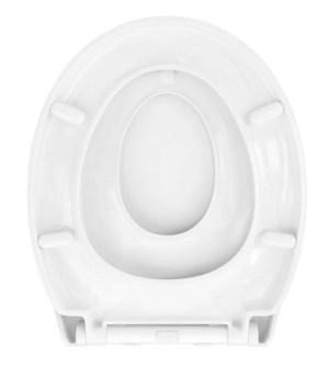 WC Sitz mit Kindersitz Absenkautomatik und Oval-Form / Soft-Close - WC Sitz Shop