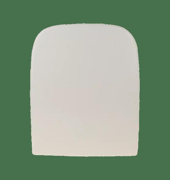 WC Sitz mit Absenkautomatik und Eckig Form / Soft-Close für SimplyU / Strada - WC Sitz Shop