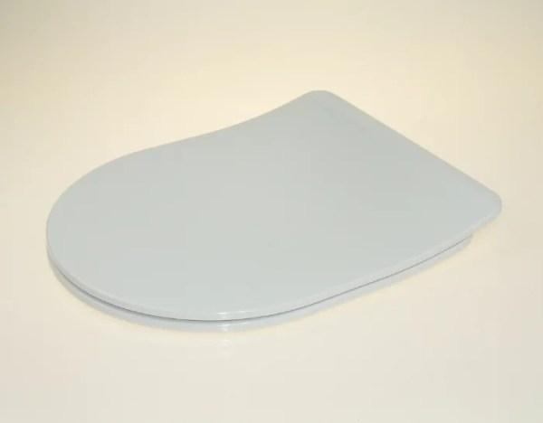 WC Sitz mit Absenkautomatik und D-Form / Soft-Close für CALLA Ideal Standard - SLIM