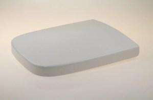 WC Sitz mit Absenkautomatik und Eckig Form / Soft-Close für White VIGOUR /Ersatz