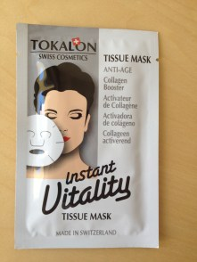 masque en tissu instant vitality Tokalon