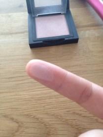 swatch blush makeover