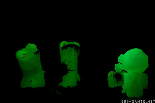 Glow in the dark toys