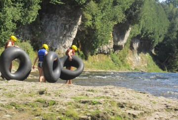 Elora Gorge tubing - launch point
