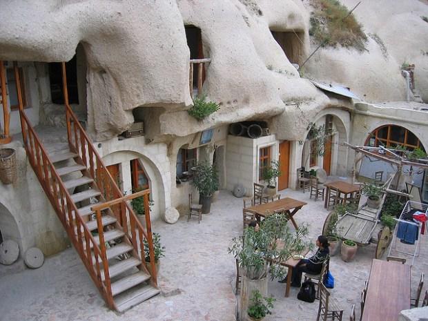 Cave Hotel, Turkey