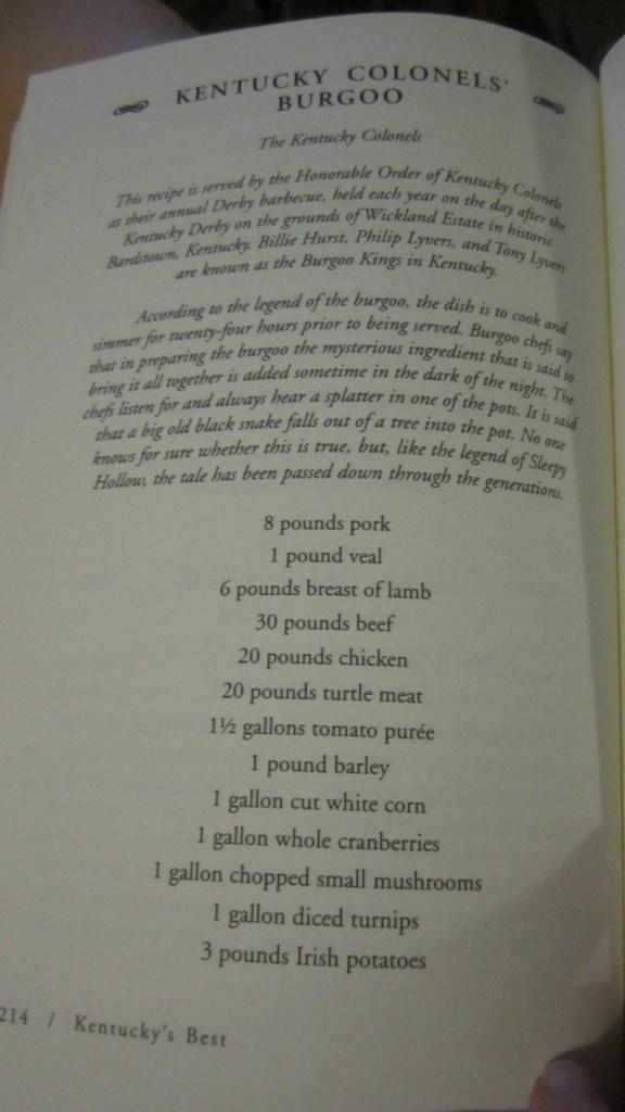 burgoo recipe