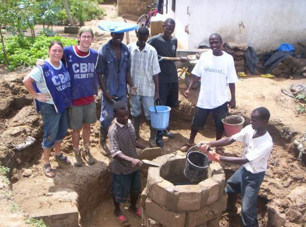 Digging Wells In Africa